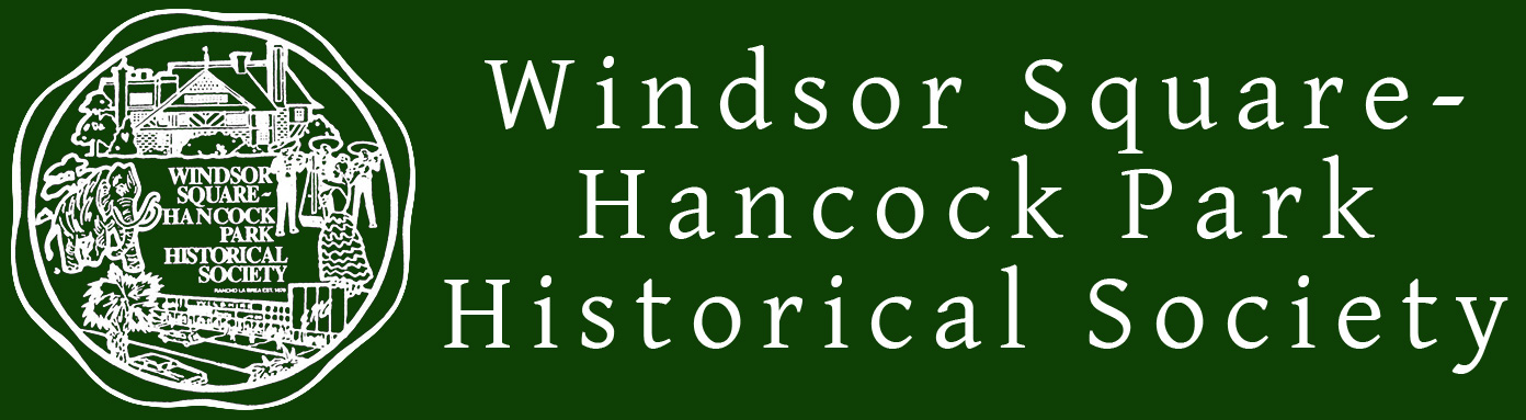 Windsor Square Hancock Park Historical Society